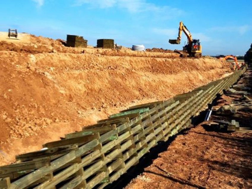 Permacrib Timber Crib Retaining Wall